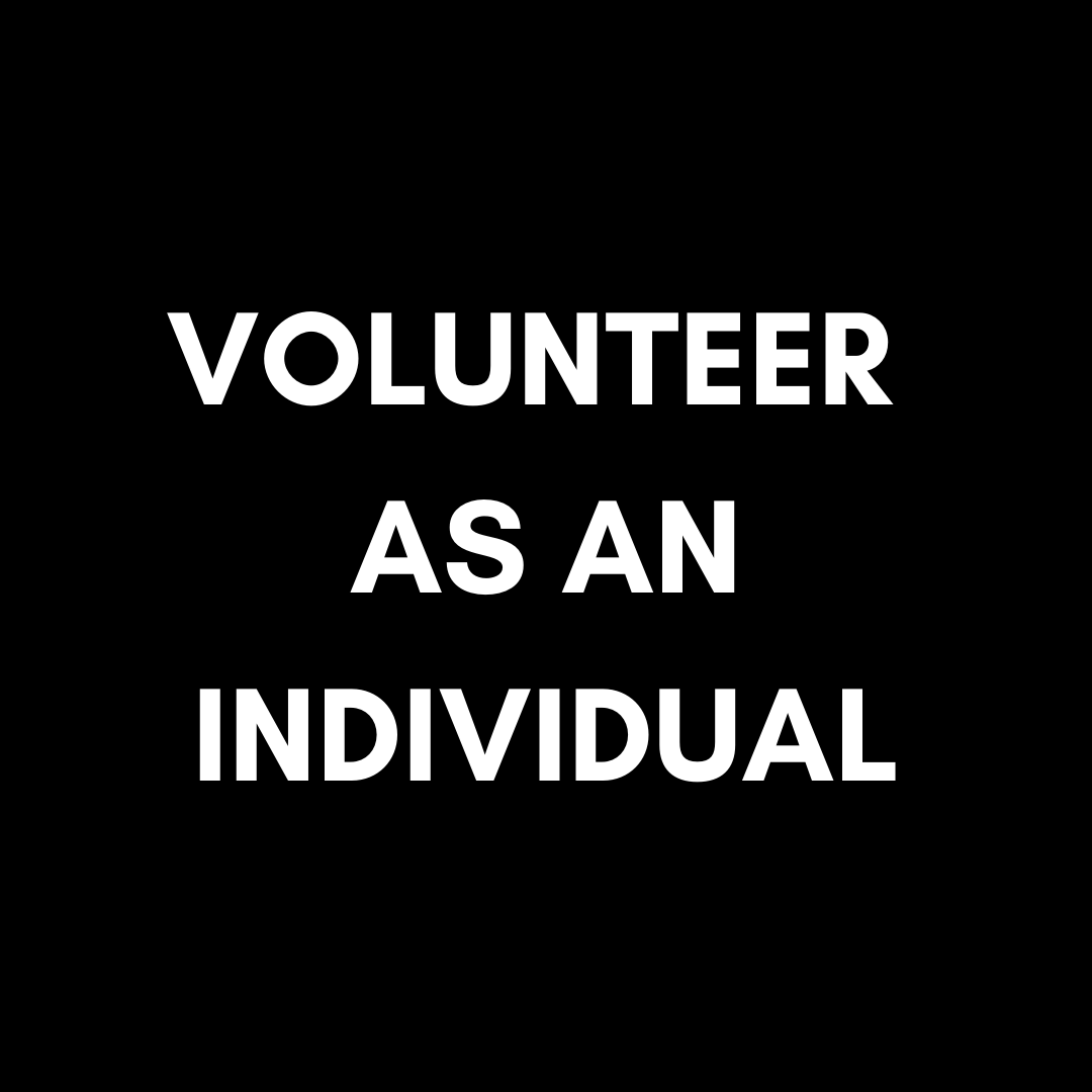 VOLUNTEER AN INDIVIDUAL