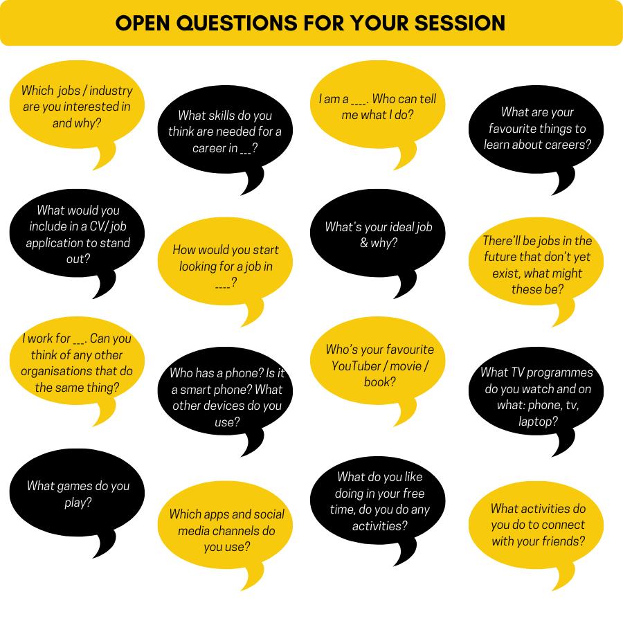Volunteer Tips & Hints open questions