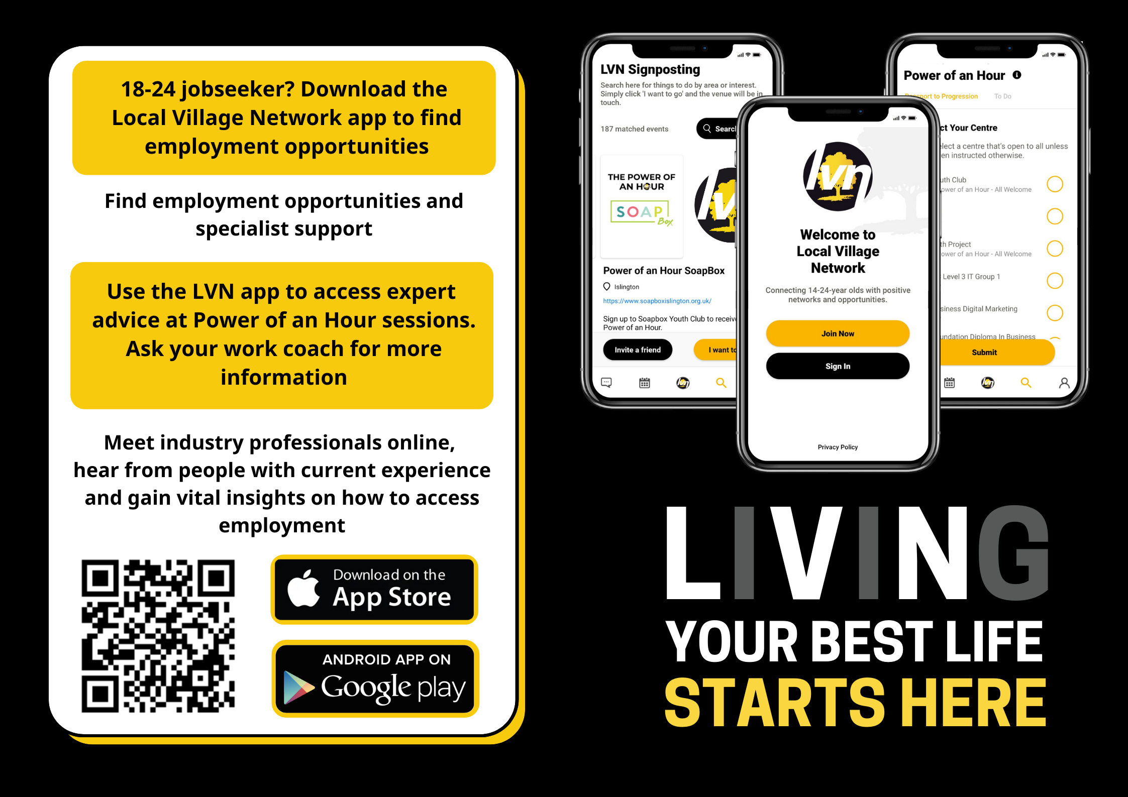About LVN flyer
