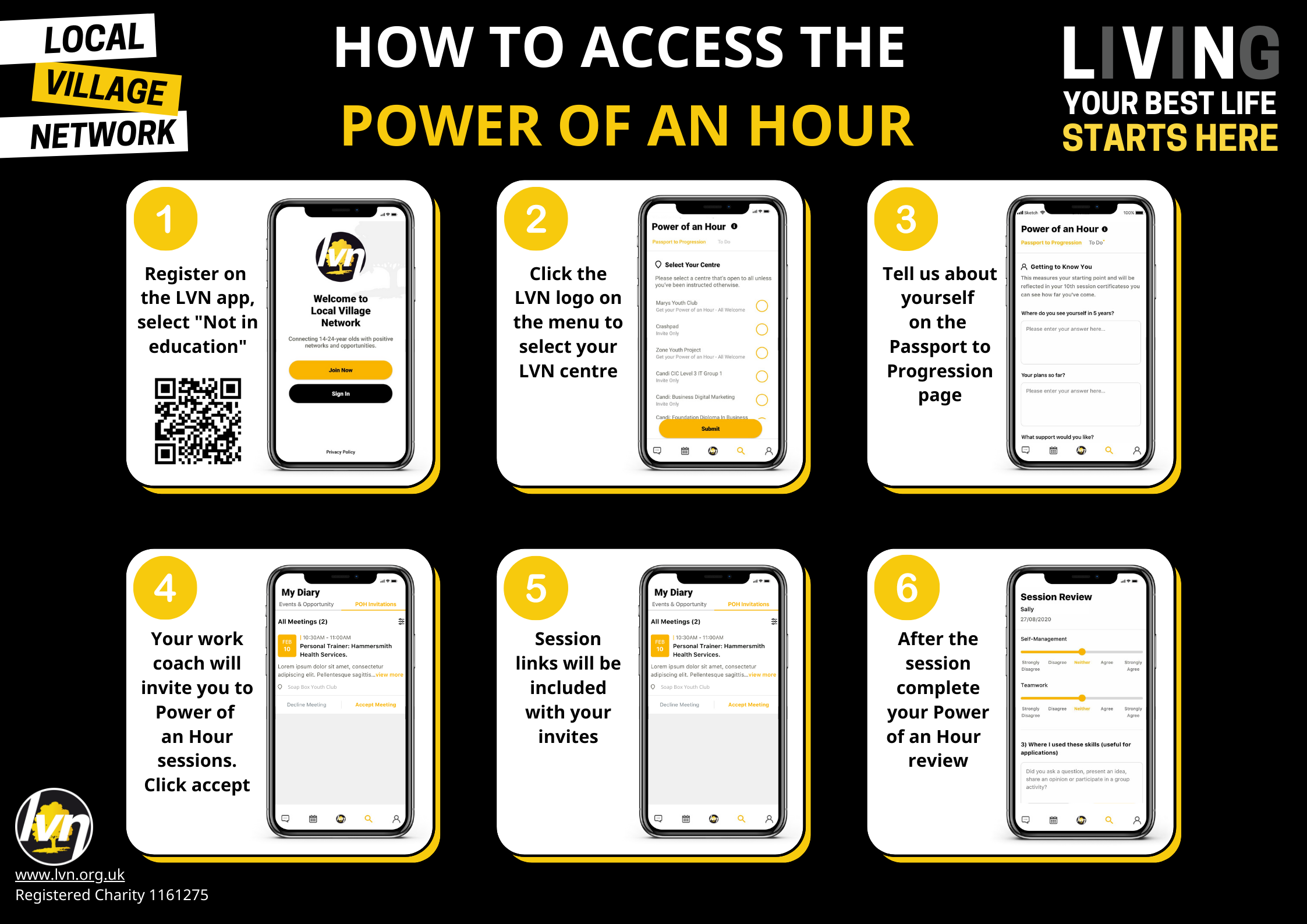 Accessing the Power of an Hour on timetable page